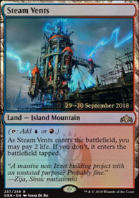 Steam Vents - Prerelease