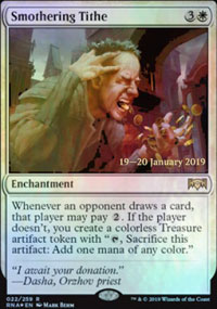 Smothering Tithe - Prerelease Promos