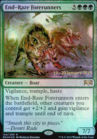 End-Raze Forerunners - Prerelease Promos
