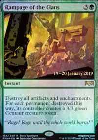 Rampage of the Clans - Prerelease Promos