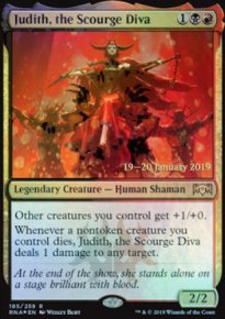 Judith, the Scourge Diva - Prerelease Promos