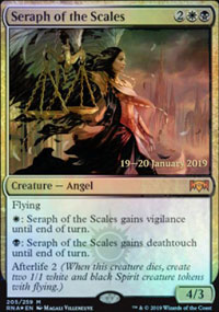 Seraph of the Scales - Prerelease Promos
