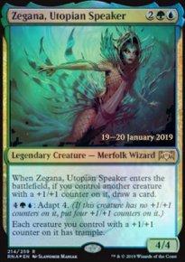 Zegana, Utopian Speaker - Prerelease
