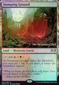 Stomping Ground - Prerelease Promos