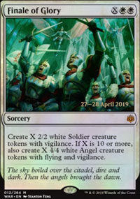 Finale of Glory - Prerelease Promos