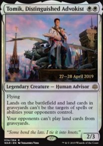 Tomik, Distinguished Advokist - Prerelease Promos