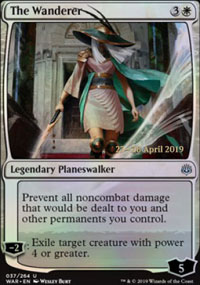 The Wanderer - Prerelease Promos