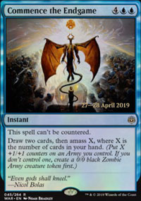 Commence the Endgame - Prerelease Promos