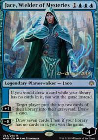 Jace, Wielder of Mysteries - Prerelease Promos