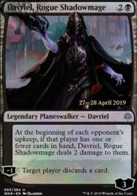 Davriel, Rogue Shadowmage - Prerelease Promos