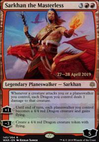 Sarkhan the Masterless - Prerelease Promos
