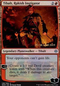 Tibalt, Rakish Instigator - Prerelease Promos