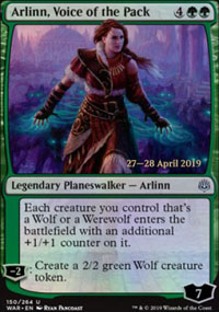 Arlinn, Voice of the Pack - Prerelease Promos