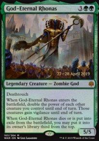 God-Eternal Rhonas - Prerelease Promos