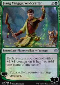 Jiang Yanggu, Wildcrafter - Prerelease Promos