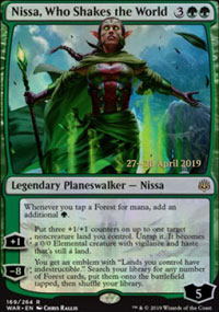 Nissa, Who Shakes the World - Prerelease Promos