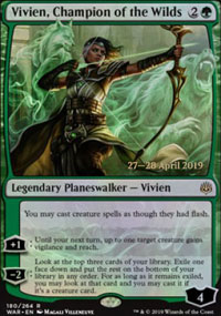 Vivien, Champion of the Wilds - Prerelease Promos