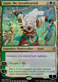 Ajani, the Greathearted - Prerelease Promos