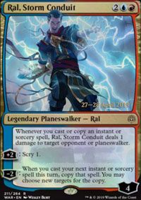 Ral, Storm Conduit - Prerelease Promos