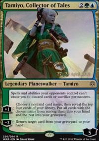 Tamiyo, Collector of Tales - Prerelease Promos