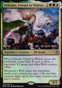 Tolsimir, Friend to Wolves - Prerelease Promos