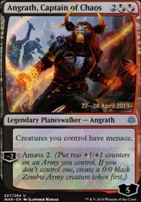 Angrath, Captain of Chaos - Prerelease Promos