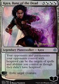 Kaya, Bane of the Dead - Prerelease Promos