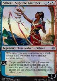 Saheeli, Sublime Artificer - Prerelease Promos