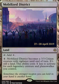 Mobilized District - Prerelease Promos