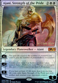 Ajani, Strength of the Pride - Prerelease Promos