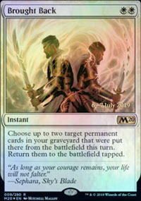 Brought Back - Prerelease Promos