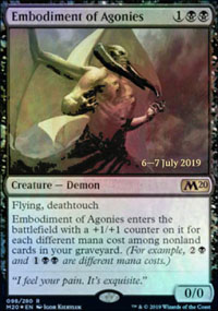 Embodiment of Agonies - Prerelease Promos