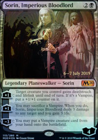 Sorin, Imperious Bloodlord - Prerelease Promos