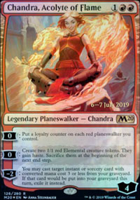 Chandra, Acolyte of Flame - Prerelease Promos