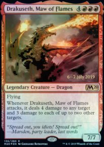 Drakuseth, Maw of Flames - Prerelease Promos