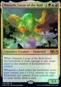 Omnath, Locus of the Roil - Prerelease Promos