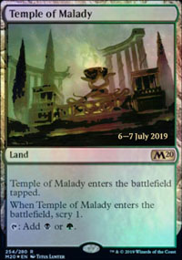 Temple of Malady - Prerelease Promos