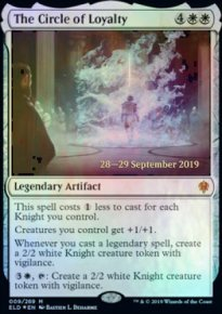 The Circle of Loyalty - Prerelease Promos