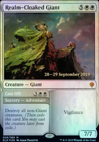 Realm-Cloaked Giant - Prerelease Promos