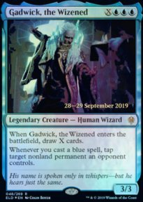 Gadwick, the Wizened - Prerelease Promos