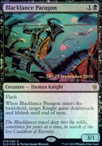 Blacklance Paragon - Prerelease Promos