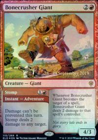 Bonecrusher Giant - Prerelease Promos