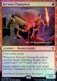 Fervent Champion - Prerelease Promos