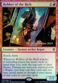 Robber of the Rich - Prerelease Promos