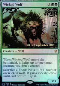 Wicked Wolf - Prerelease Promos
