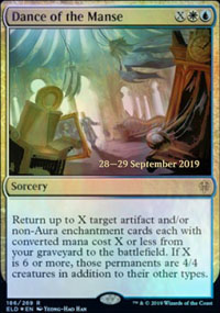 Dance of the Manse - Prerelease Promos