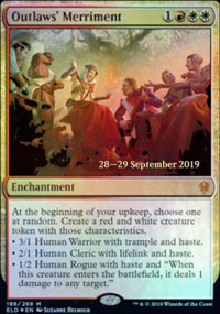 Outlaws' Merriment - Prerelease Promos