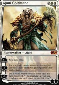 Ajani Goldmane - Magic 2010