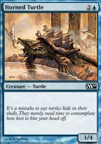 Horned Turtle - Magic 2010