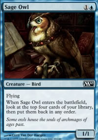 Sage Owl - Magic 2010